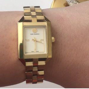 Tory Burch gold Dalloway Ladies Quartz Watch